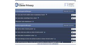 Facebook-Schutz: Clever Privacy