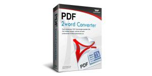 Wondershare PDF 2 Word Converter