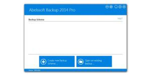Abelssoft Backup 2014