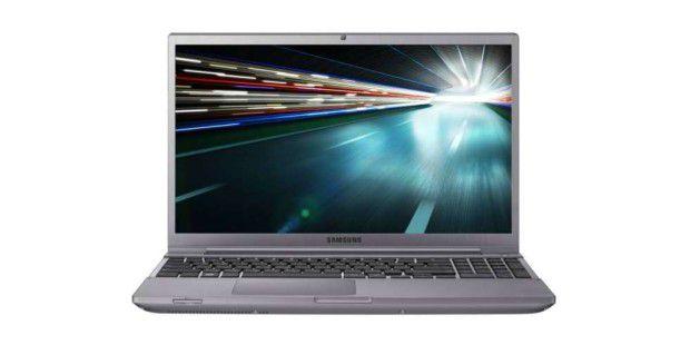Die Samsung Serie 7 besteht aus dem Chronos 15 (im Bild), dem Chronos 13 und dem Slate PC.