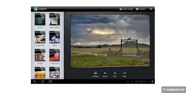 Snapseed erscheint für Mac und Android-Tablets - PC-WELT