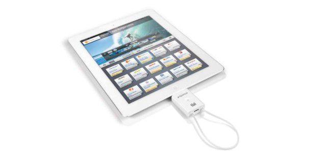 Ein handlicher DVB-T-Empfänger für das Apple iPad 2.