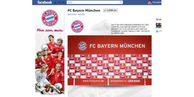 Missglückte Facebook-Aktion des FC Bayern München