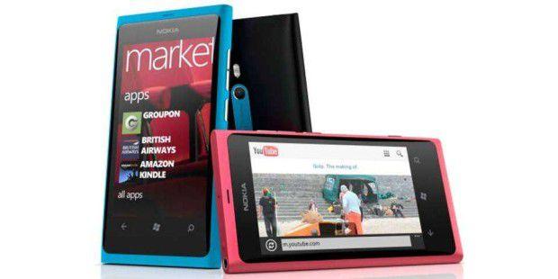 Nokia versucht die Aufholjagd mit der Lumia-Reihe und Windows Phone 7