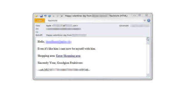 Hacker nutzen Valentinstag  für Angriffe