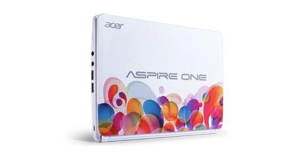 Bunt: Designvariante des Acer Aspire One D270