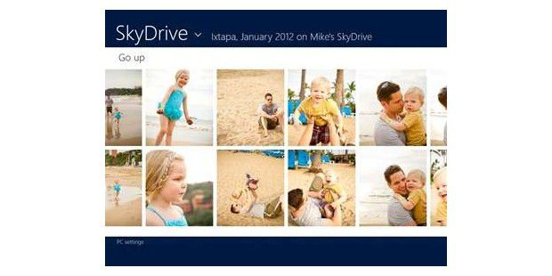 Skydrive für Windows 8