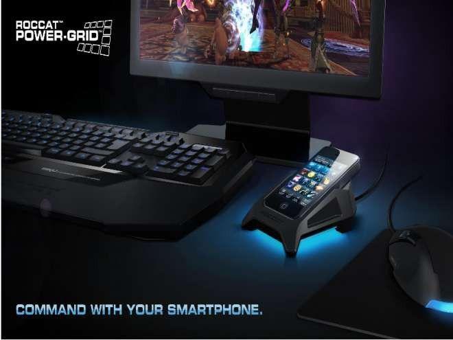 Pc games per smartphone mit roccat power grid steuern pc welt