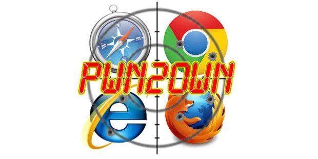 Pwn2own - drei Browser gehackt