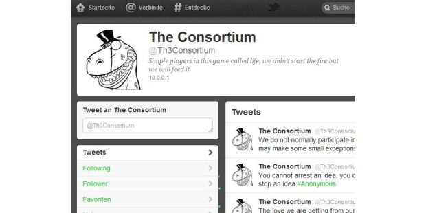 "Hacker-Gruppe: ""The Consortium"""