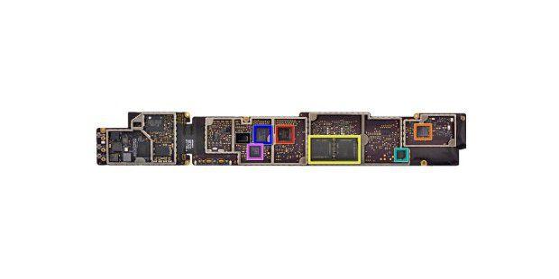 Die Logikeinheit des neuen iPad: Prozessor, RAM,Grafik