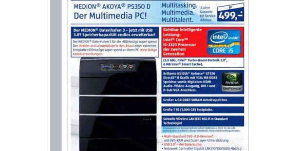 Neue Aldi-PC kommt Ende März