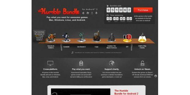 Humble Bundle für Android, Windows, Linux und Mac