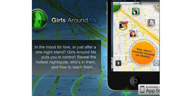 Girls Around Me nicht mehr verfügbar