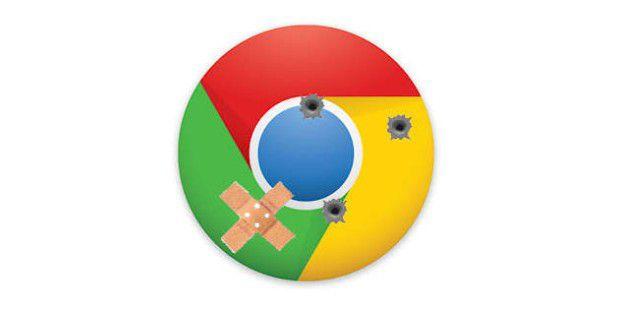 Chrome-Lücken geflickt