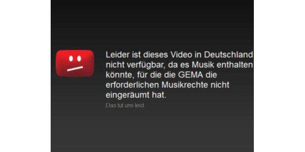 Gema feiert Etappensieg im Streit mit Youtube