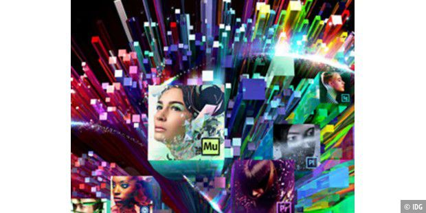 Adobe stellt Adobe Creative Cloud vor