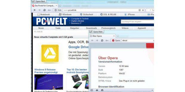 Opera 12 Beta steht zum Testen bereit
