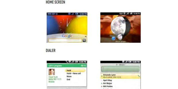 So sah Android im Jahr 2007 aus (Bild: The Verge)