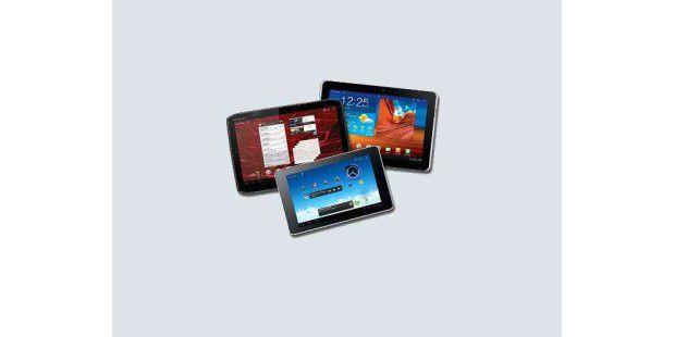 Mit der 1&1Tablet-Flatrate lassen sich verschiedene Tablets dazu buchen.