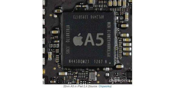 Die neue iPad-2-CPU&#x3B; Quelle: Chipworks