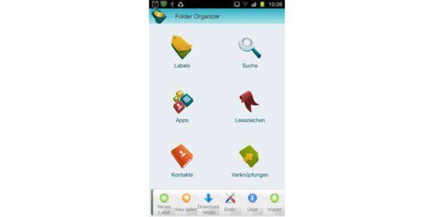 App-Test: Folder Organizer