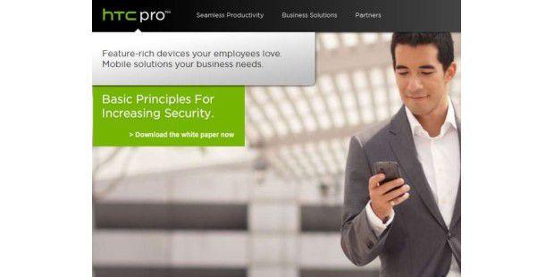 HTCpro soll HTC-Smartphones leichter in die Unternehmen bringen