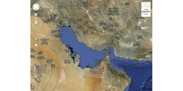Google Maps: Persischer Golf oder Arabischer Golf?