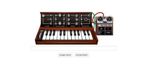Google erinnert an Robert Moog