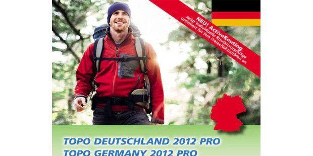 199 Euro kostet die neue Garmin-Karte Topo Deutschland 2012 Pro mit automatischer Zielführung