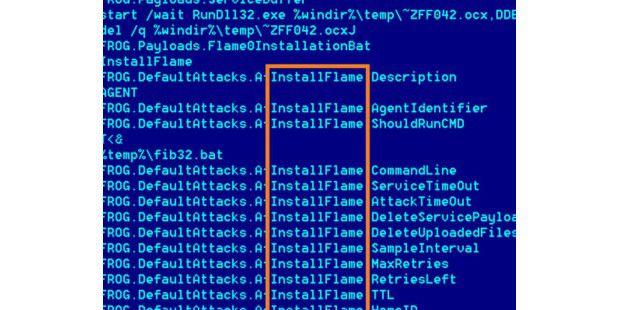 Spionage-Malware Flame