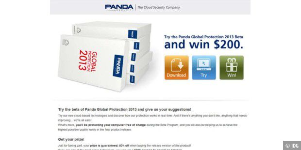 Panda Global Protection 2013 Beta