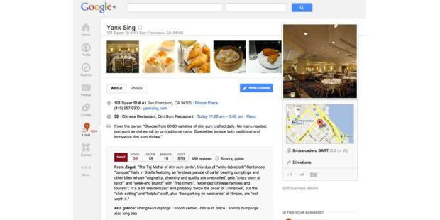 Neuer Google-Dienst: Local