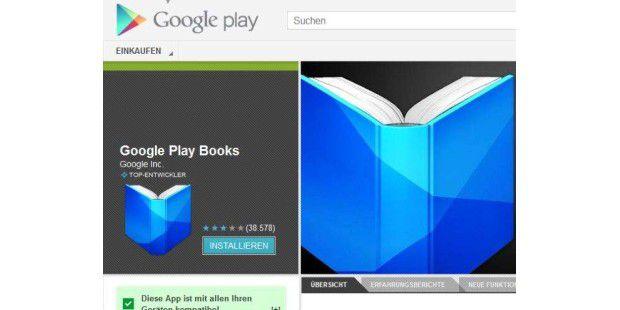 Google verkauft ab sofort auch in Deutschland eBooks auf Google Play