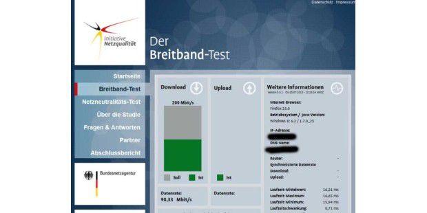 Initiative Netzqualität der Bundesnetzagentur