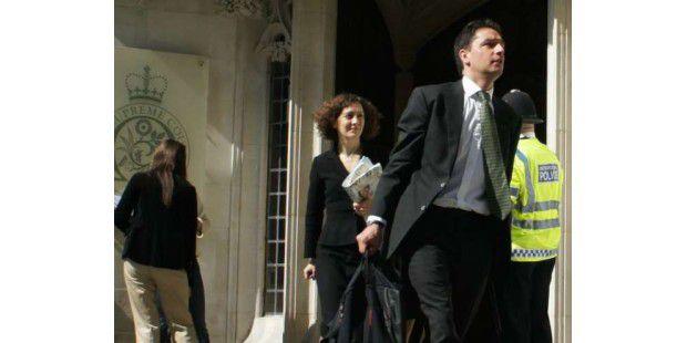 Dinah Rose, die Rechtsanwältin von Julian Assange.