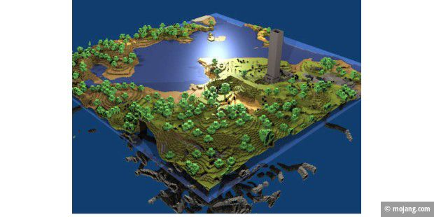 Minecraft für Xbox 360 bekommt großes Update - PC-WELT