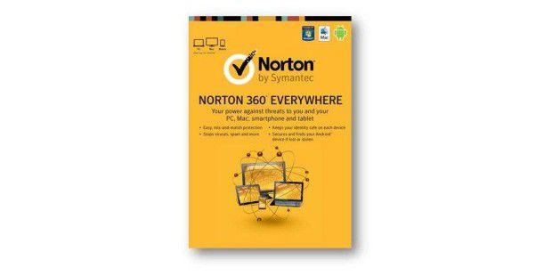 Norton 360 Everywhere schützt PC, Mac & Androiden