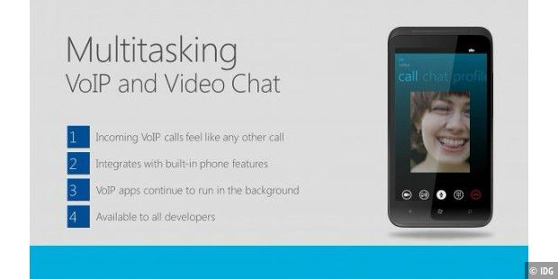 Multitasking VoIP and Video Chat in Windows Phone 8