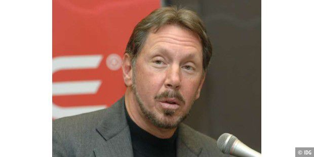 Larry Ellison, Chef von Oracle