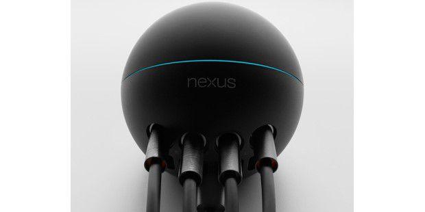 Google Nexus Q angeschlossen.