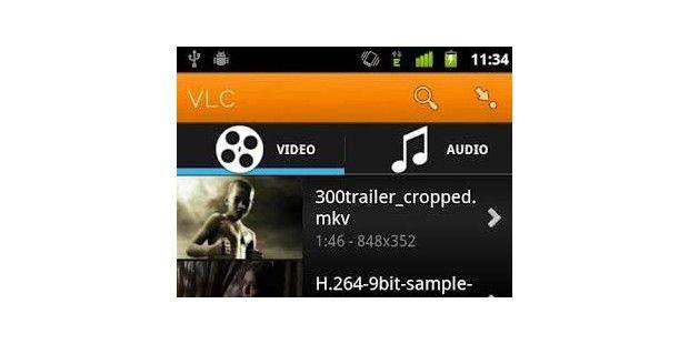 VLC Beta für Android