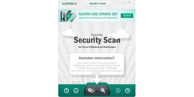 Der neue Gratis-Virenscanner Kaspersky Security Scan eignet sich für Kontrollscans.