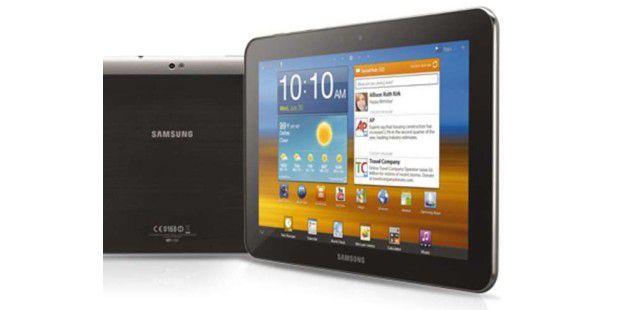 Das Samsung Galaxy Tab 7.7 darf in Europa nicht mehr verkauft werden. Anders sieht es dagegen beim Galaxy Tab 10.1N aus - hier siegte Samsung.