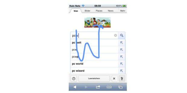 Googles neue Handschrift-Erkennung