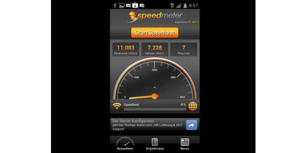 Speedmeter-App für Android