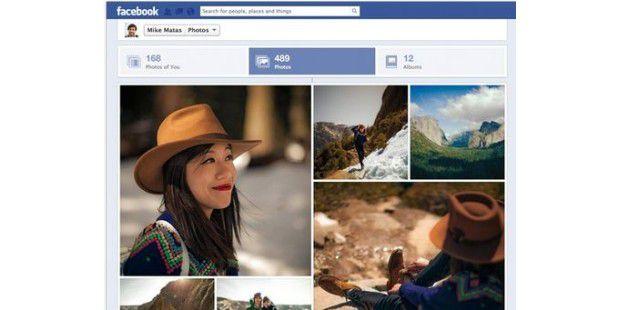Eigene Fotos bei Facebook nach dem neuen Design
