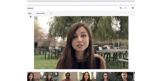 Hangout integriert in Googlemail