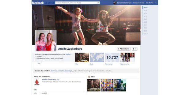 Arielle Zuckerberg (Facebook)