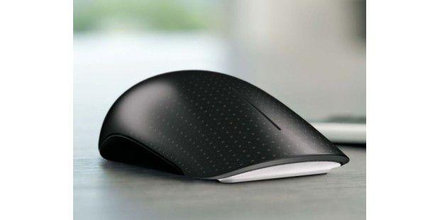 Reagiert auf Fingergesten: Die Microsoft Touch Maus
